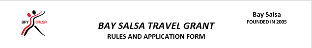 New Travel Grant page now online
