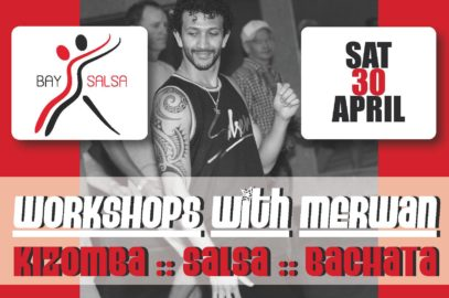 Workshops with Merwan: Kizomba/Salsa/Bachata