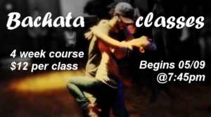 bachata classes - wordpress